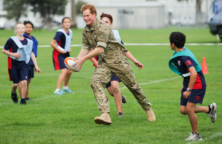 Prince Harry Visits New Zealand - Day 5