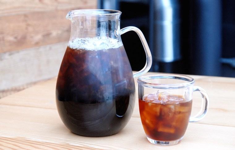 Starbucks cold-brewed coffee