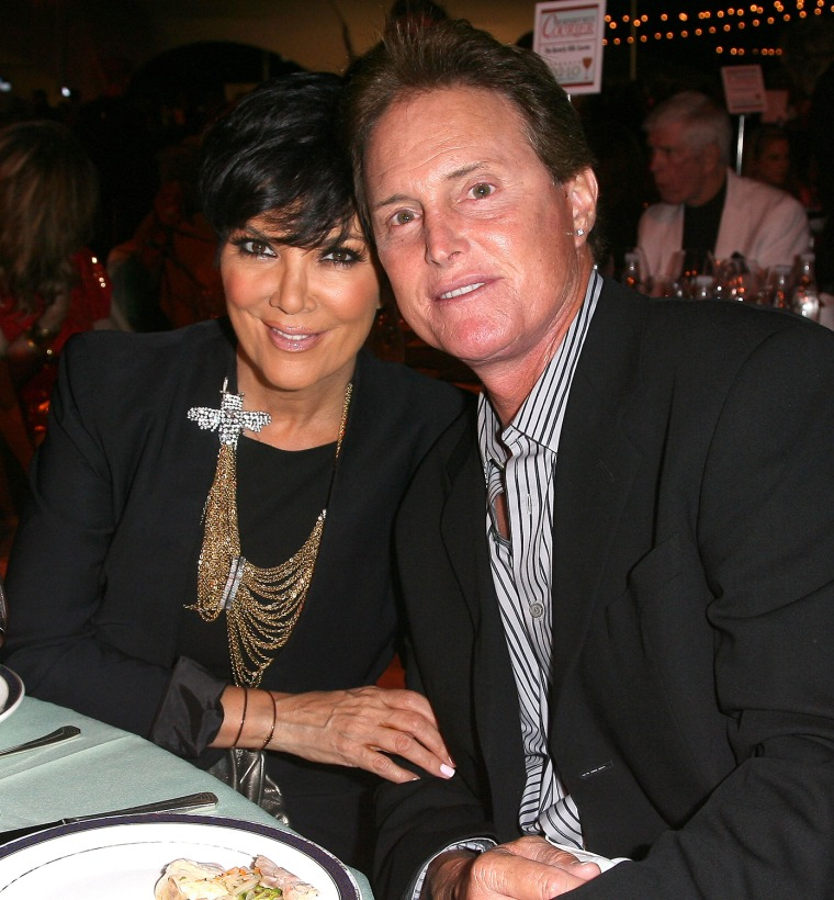 Bruce and Kris Jenner attend the Taste Of Beverly Hills Wine & Food Festival in 2010