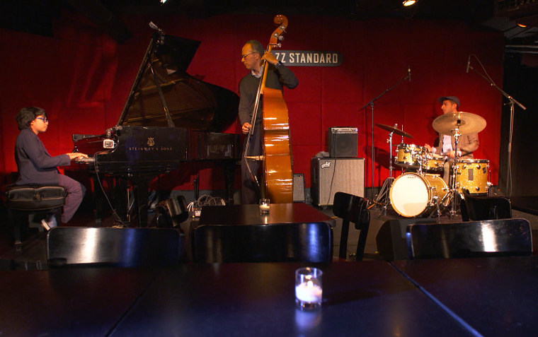 Jazz prodigy Joey Alexander plays with TODAY's Lester Holt