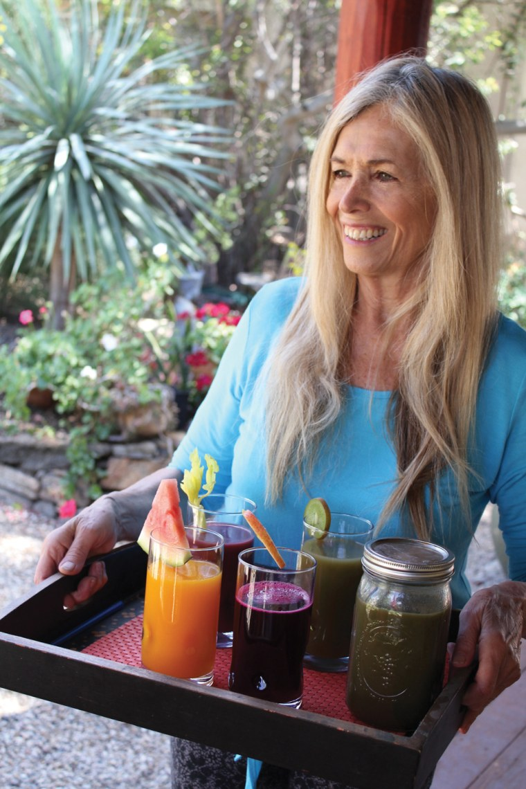 Mimi Kirk, author of the Ultimate Book of Modern Juicing