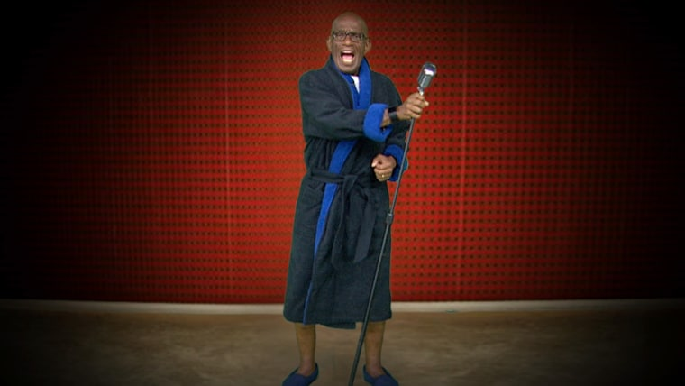 """TODAY's Al Roker tries his hand at starring in Lunchmoney Lewis' """"Bills"""" video"""