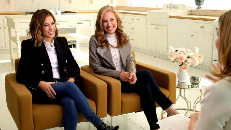 Jenna Bush Hager interviews female entrepreneurs