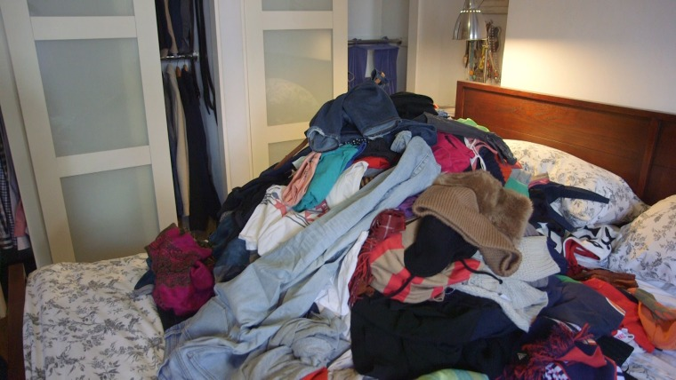 Image: Pile of clothing
