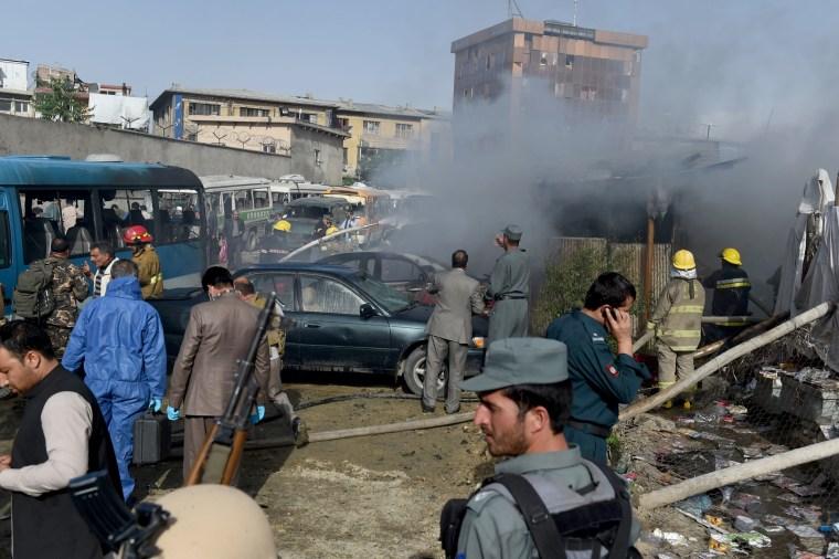 Image: AFGHANISTAN-UNREST