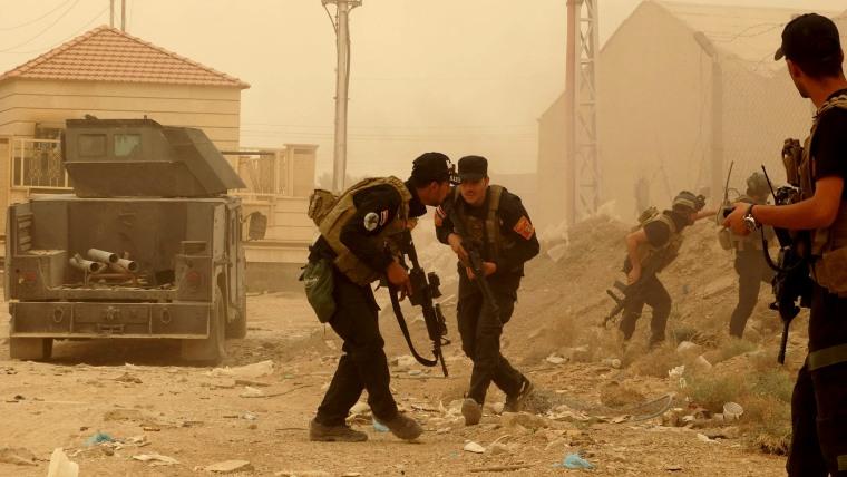 Image: chaos in Ramadi