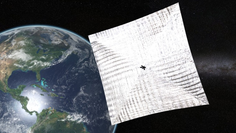 'It's Alive!' LightSail Solar Sail Reboots Itself After Orbital Glitch