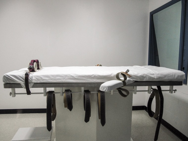 Nebraska's lethal injection chamber