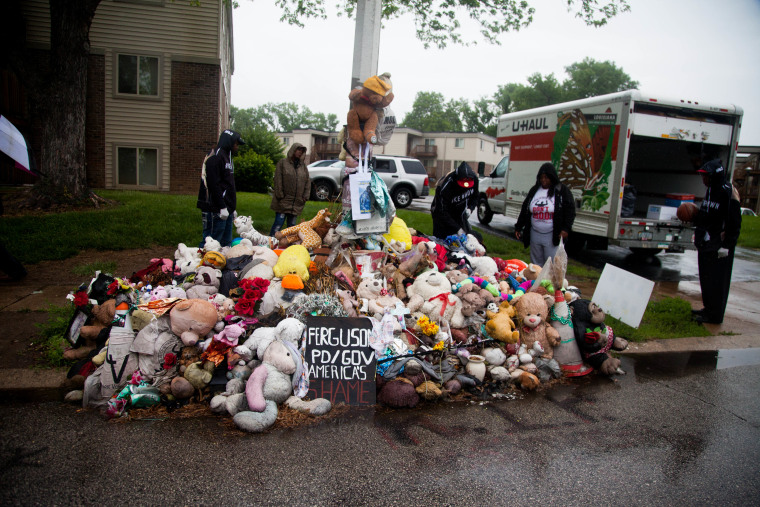 Michael Brown Memorial