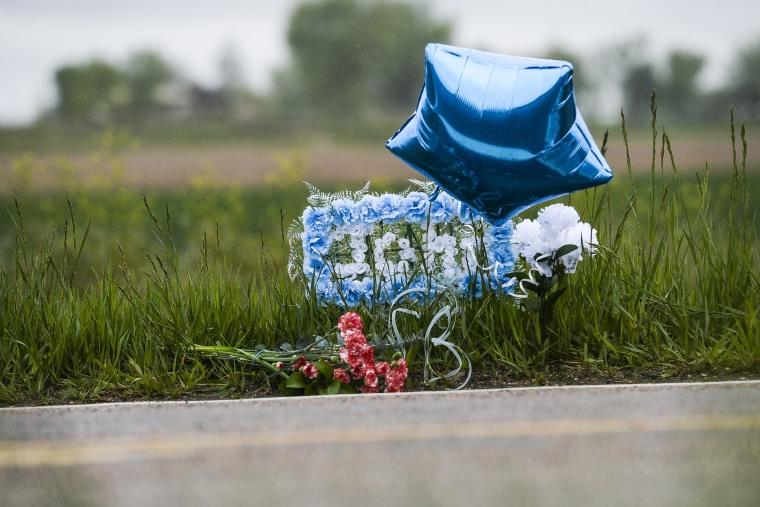 Image: Memorial for John Jacoby in Windsor, Colorado