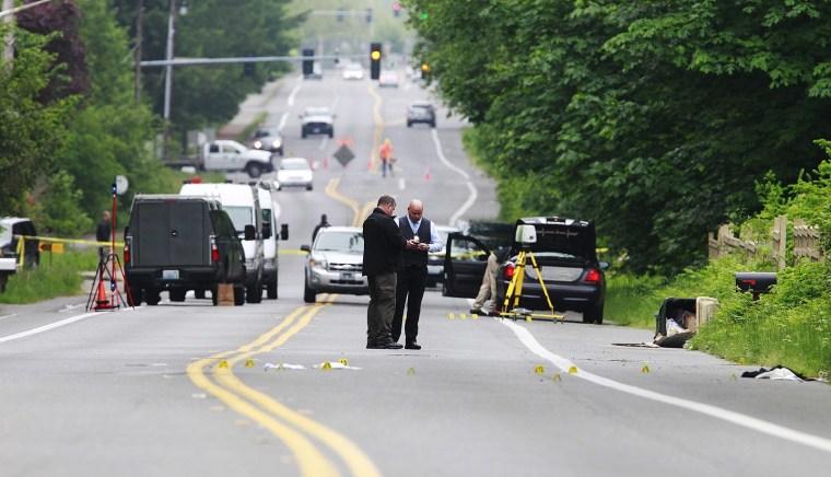 Image: Olympia, Washington, investigation