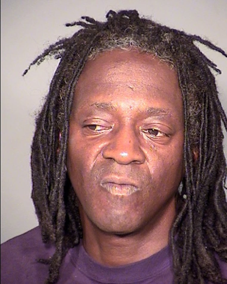 Image: Flavor Flav Booking Photo - May 21, 2015