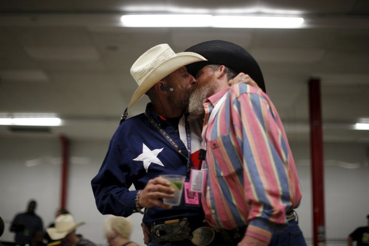Image: Gay Rodeo In Little Rock