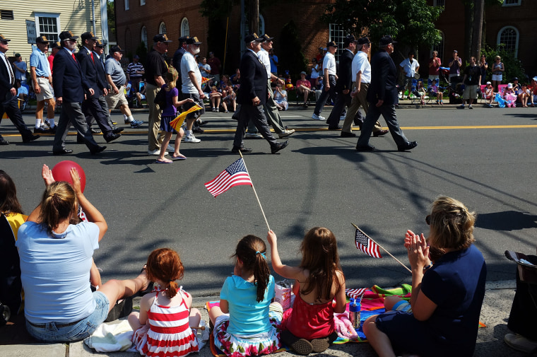Image: Fairfield, CT, Marks Memorial Day With Parade