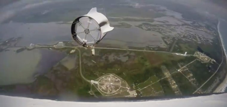 Image: SpaceX Pad Abort Test