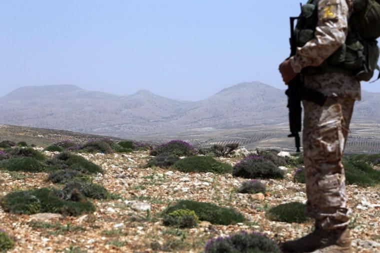 Image: LEBANON-SYRIA-CONFLICT-HEZBOLLAH