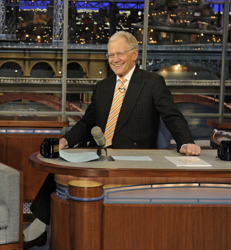 Image: Late Show with David Letterman