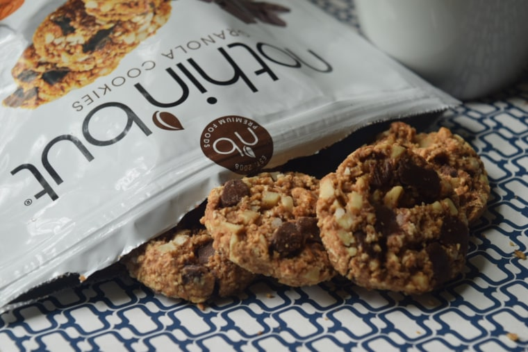 Nothin' But Chocolate Coconut Almond Cookies