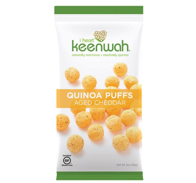 I Heart Quinoa Cheddar Puffs
