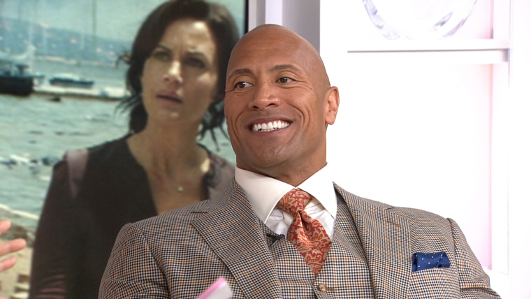 Dwayne Johnson: I feel 'really lucky' to star in 'San Andreas'