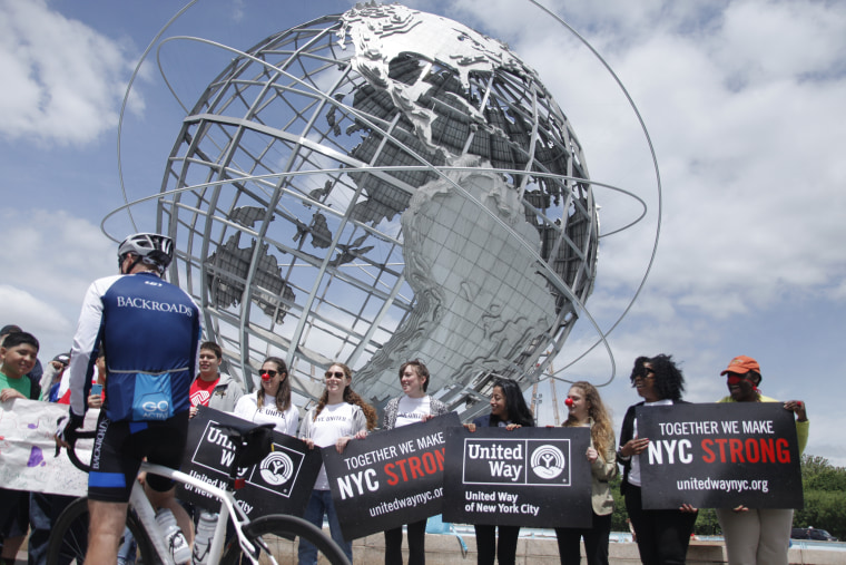 United Way welcomes Matt Lauer to Flushing Meadows