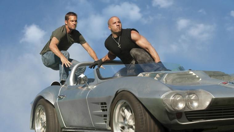 Image: Fast & Furious 5 - Paul Walker and Vin Diesel