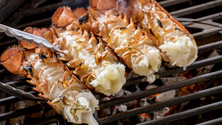How to cook lobster tail: Grilled lobster tail