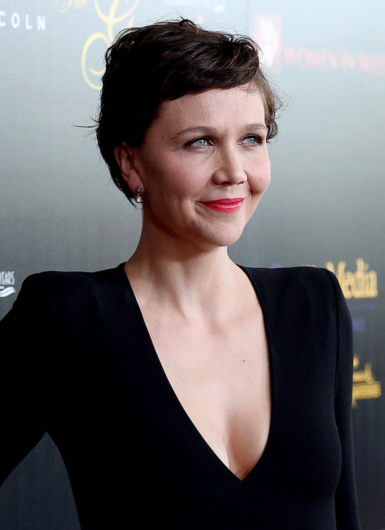 Maggie Gyllenhaal at the 40th Anniversary Gracies Awards - Arrivals
