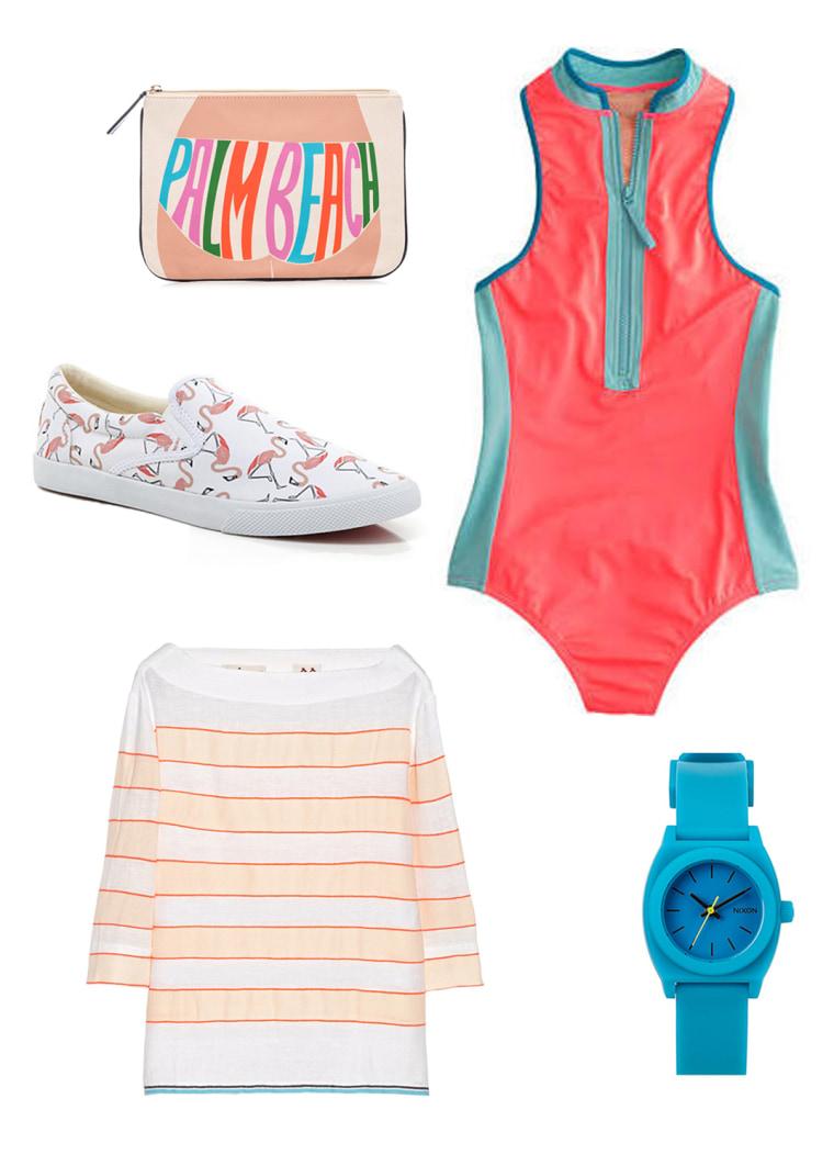 One piece swim style - Sporty