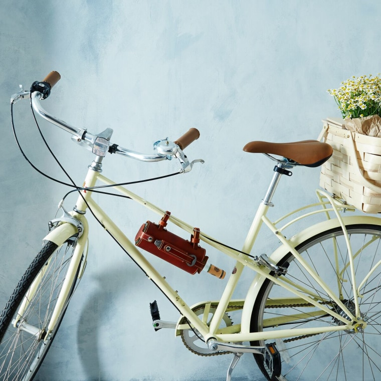 Pedal Happy's Bicycle-Mounted Wine Holder