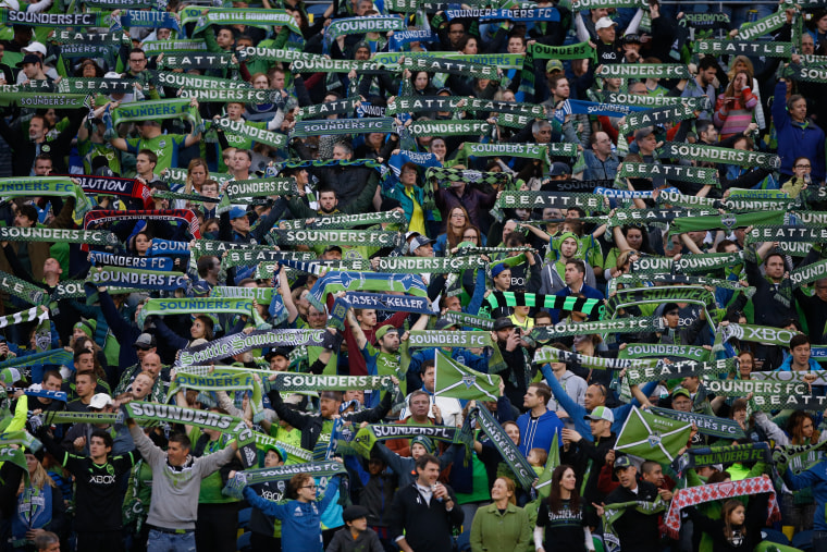 Image: New England Revolution v Seattle Sounders