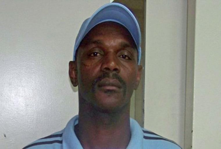 Image: Handout of Otis Byrd in Jackson, Mississippi