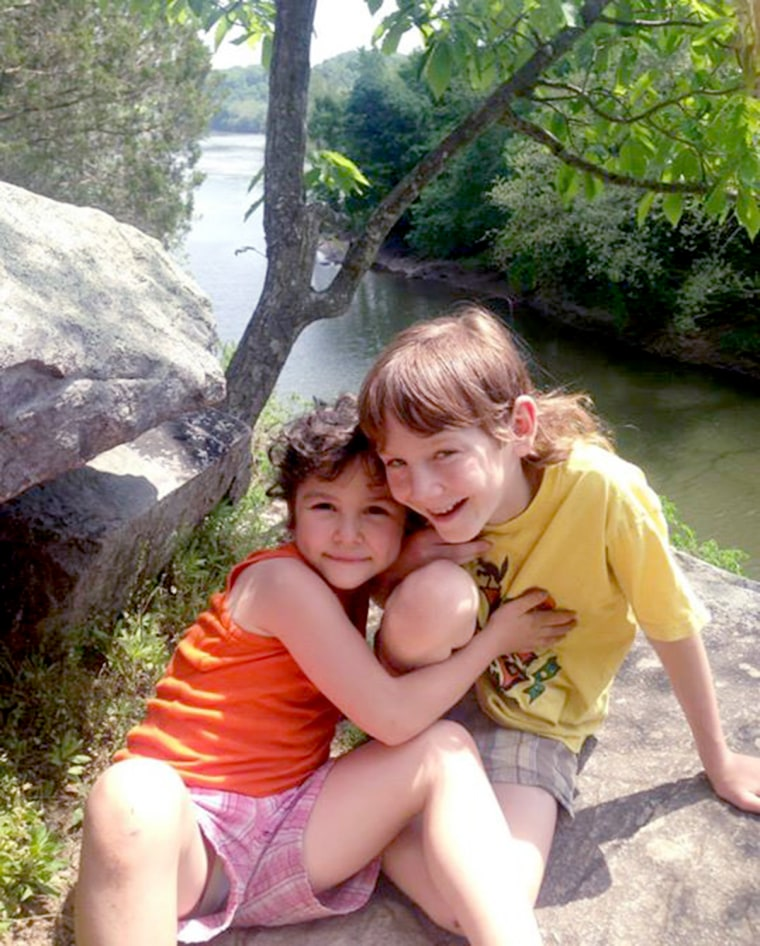 Meitiv children — Rafi, 10, and Dvora, 6