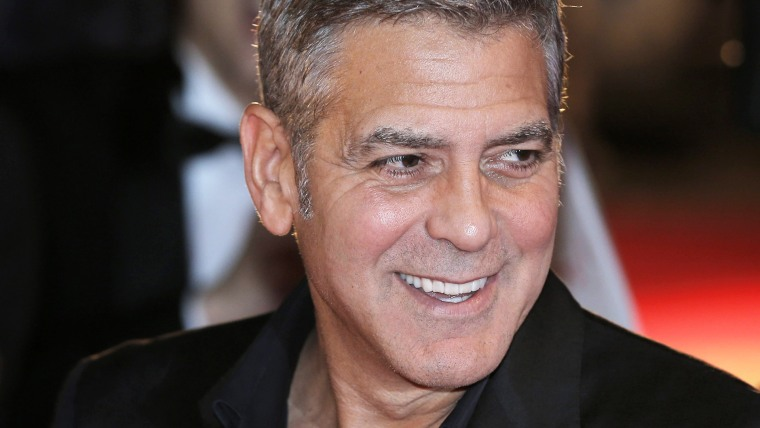 George Clooney at Tomorrowland premiere in Japan