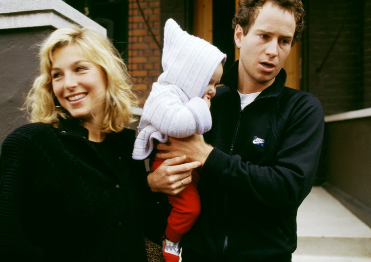 McEnroe And Family