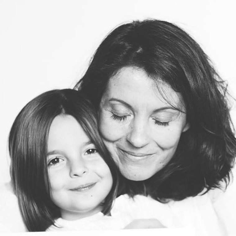 Capucine and her mom