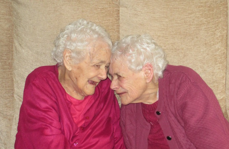 Twin sisters Florence Davies and Glenys Thomas recently passed away weeks apart.