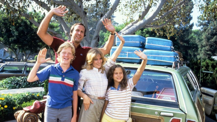 Vacation: Anthony Michael Hall, Chevy Chase, Beverly D'Angelo, Dana Barron, 1983