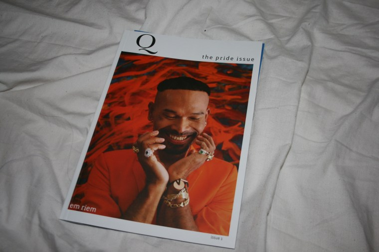 Q Cambodia is the country's first print magazine geared toward the gay, lesbian and transgender community.