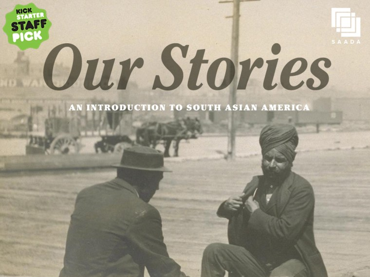 The cover of Our Stories: An Introduction to South Asian America