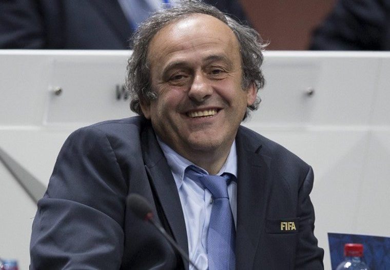 Image: UEFA President Michel Platini