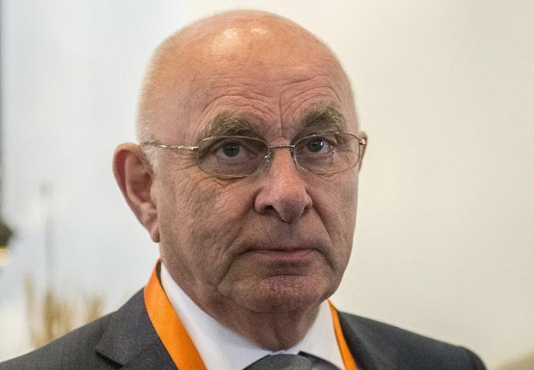 Image: Dutch Football Federation President Michael van Praag