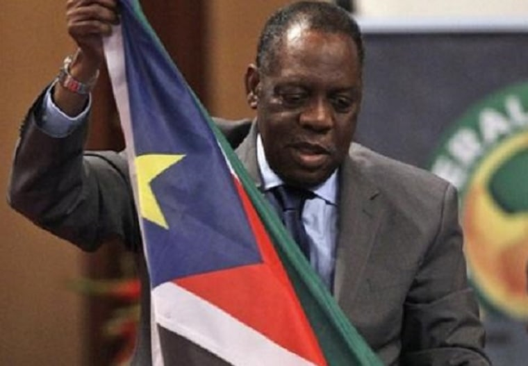 Image: African Football Confederation President Issa Hayatou