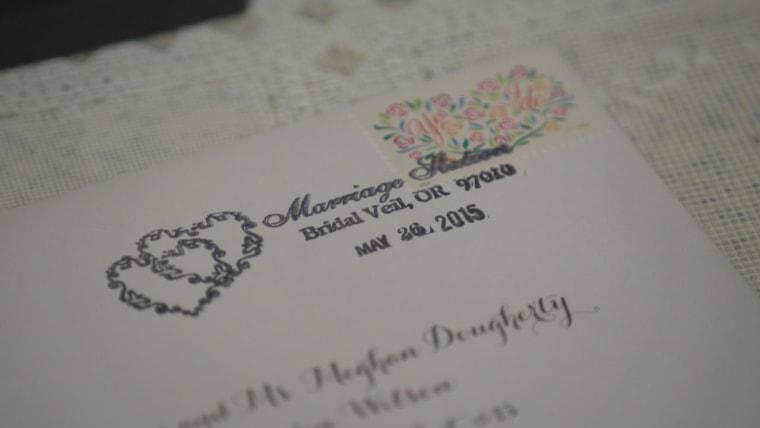 Bridal Veil, Oregon, postmark