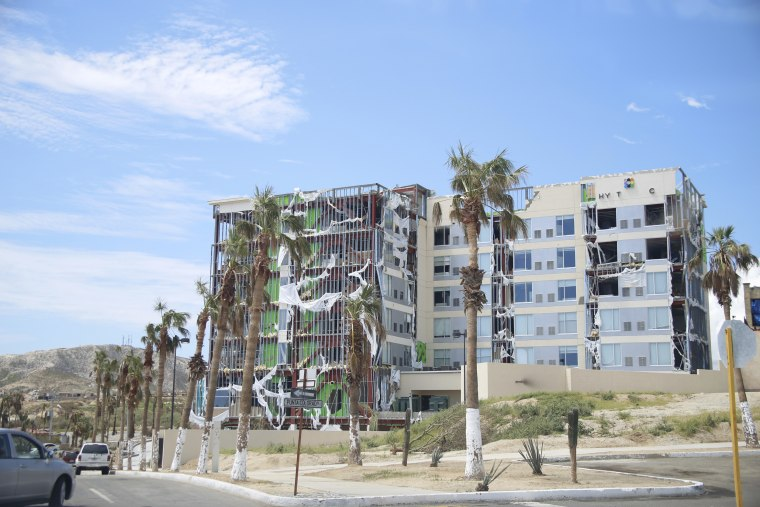 Hurricane Odile Strikes Baja California Sur