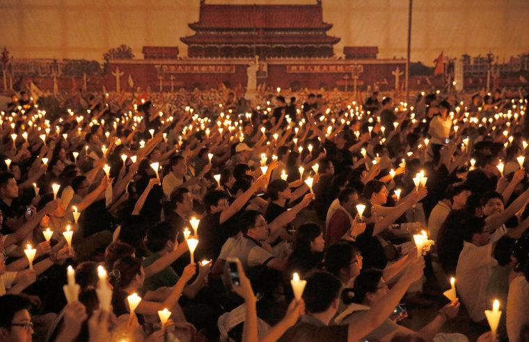Image: Hong Kong Remembers Tiananmen Square Incident