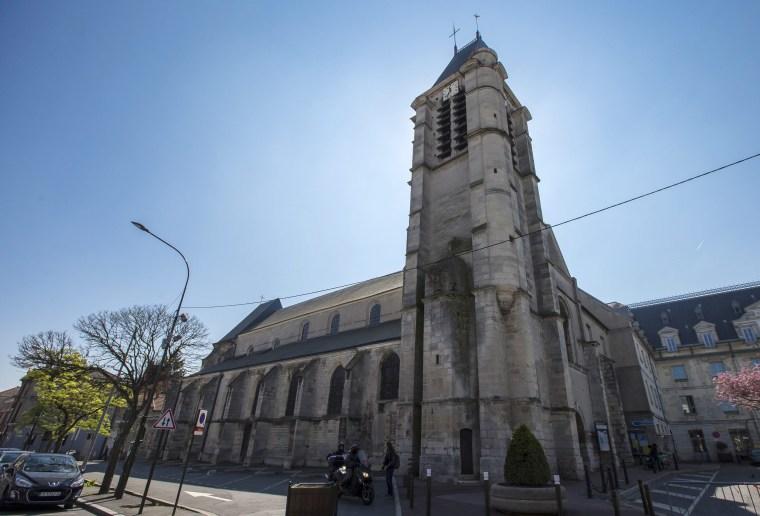 Image: France church terror plot