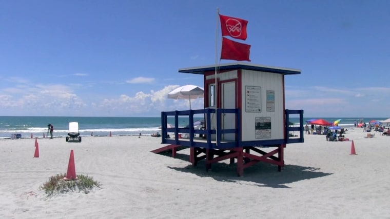 An 10-year-old boy was airlifted after being bitten by a shark Sunday morning in Cocoa Beach.