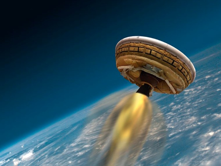 Failure to Launch: NASA's Flying Saucer Stays Grounded