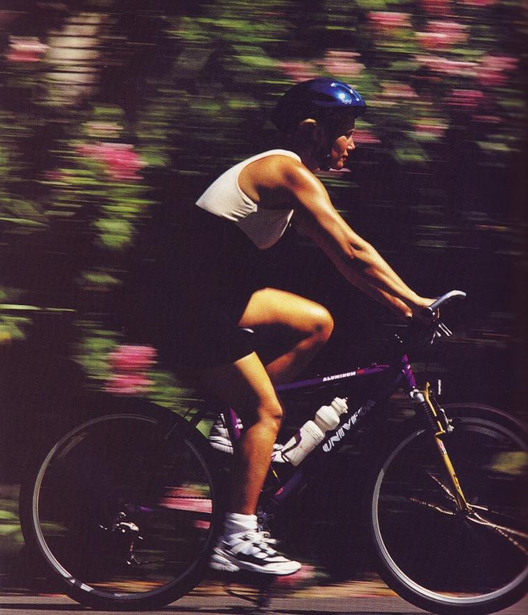 Joan Lunden bike ride